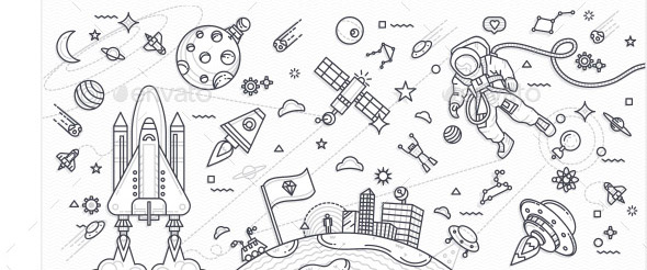 21 Cool Illustration Doodle Design Templates