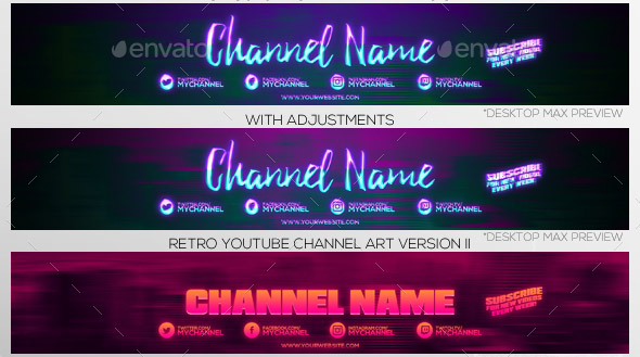 20 Nice Youtube Channel Cover Design Templates Desiznworld