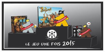 Le Jeu Une Fois 2015 : Les résultats