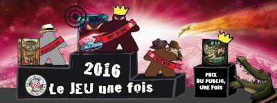 Le Jeu Une Fois 2016 : Les résultats