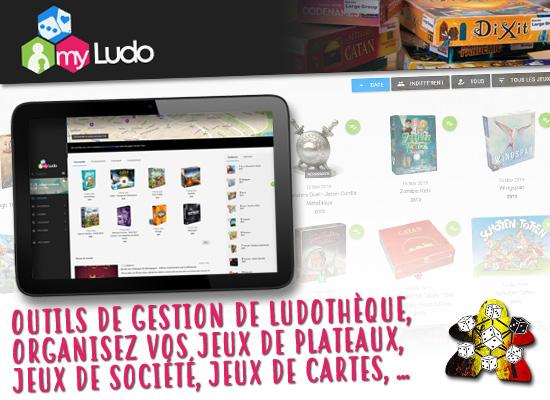 Votre ludothèque en ligne avec MyLudo