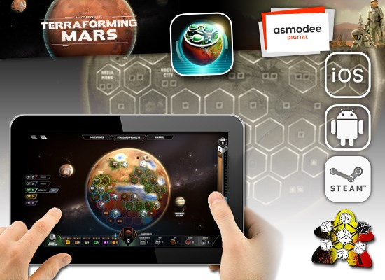 Terraforming Mars : l'application