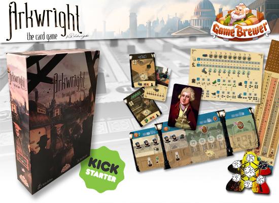 Arkwright : Le jeu de cartes