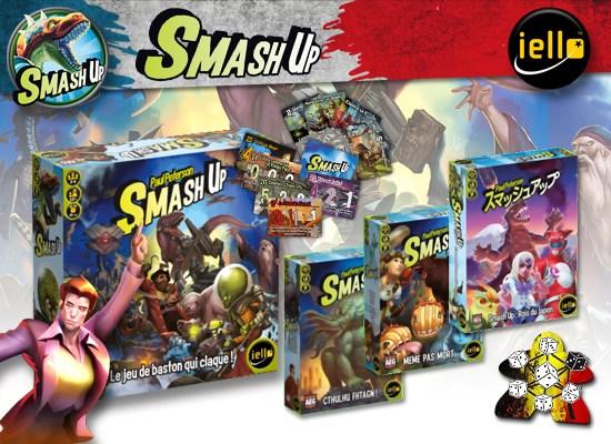 Smash up : les extensions