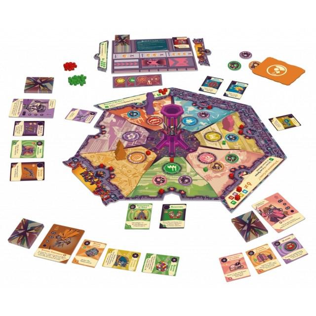 The Loop : le plateau de jeu