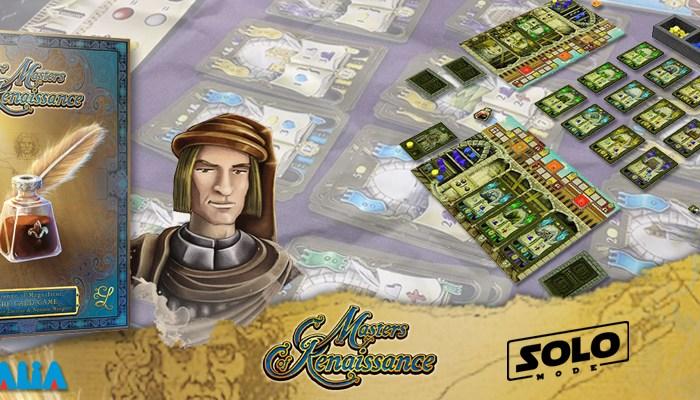 Masters of Renaissance : Lorenzo le magnifique, le jeu de cartes