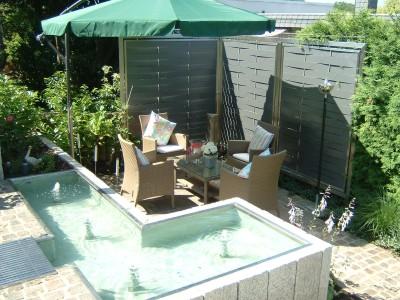wasserbecken garten beton reimplica garten und bauten - terrasseenbois, Garten ideen