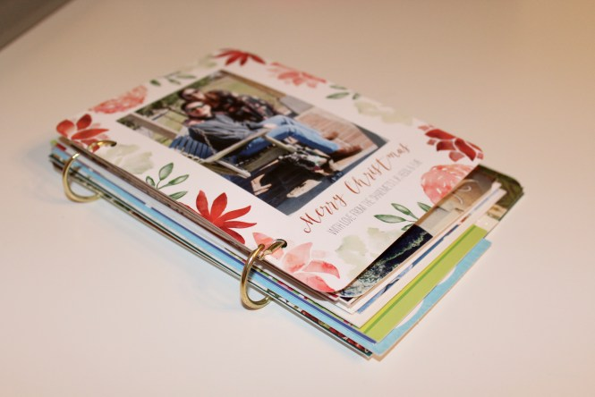Greeting Card Album How-To