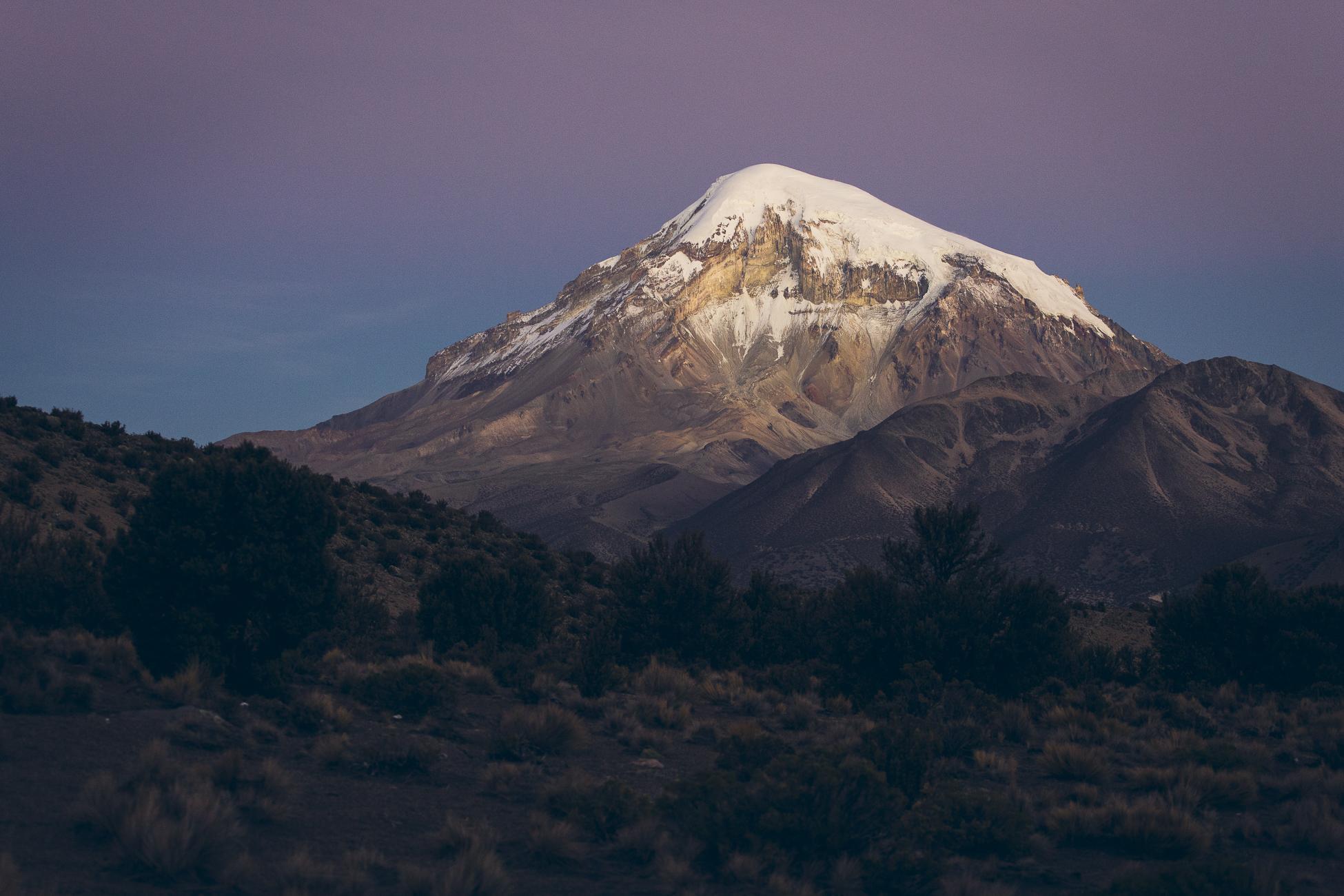 Desk to Glory  Sajama National Park Bolivia  Desk To Glory