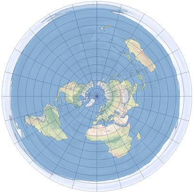 等距方位 (Azimuthal equidistant) 投影—幫助   文檔