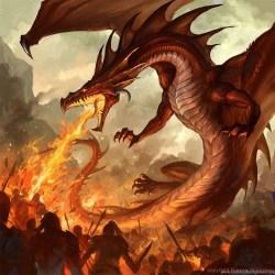 Iphone Fire Dragon Wallpaper