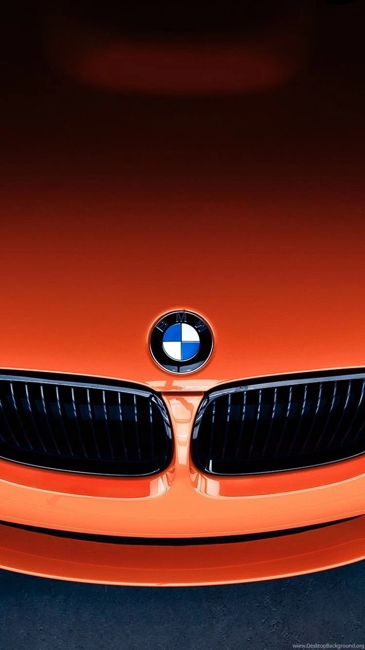 Download Wallpapers 750x1334 Bmw, M3, Front, Orange, Label