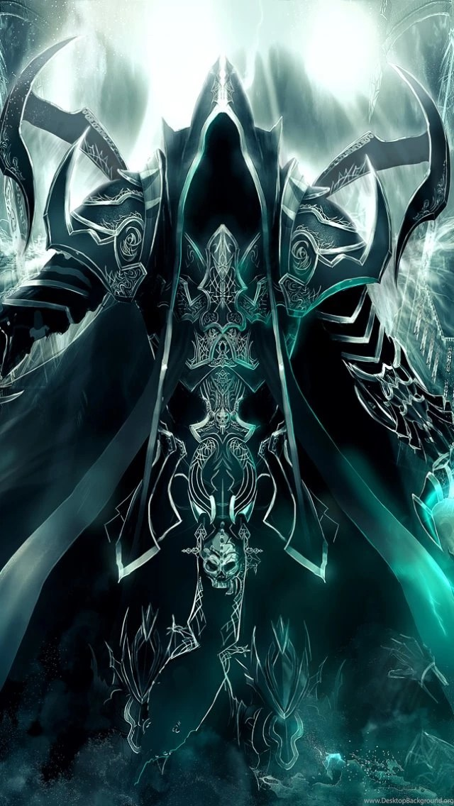 Download Wallpapers 640x1136 Art, Diablo Iii, Reaper Of
