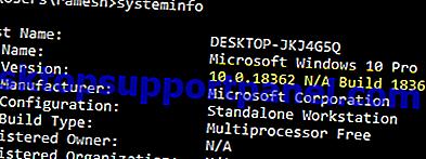 Windows 10のビルド番號、バージョン、エディション、ビットネスを見つける方法