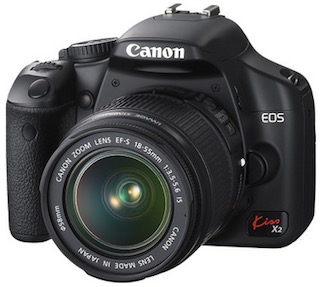 Canon EOS Rebel XSi camera