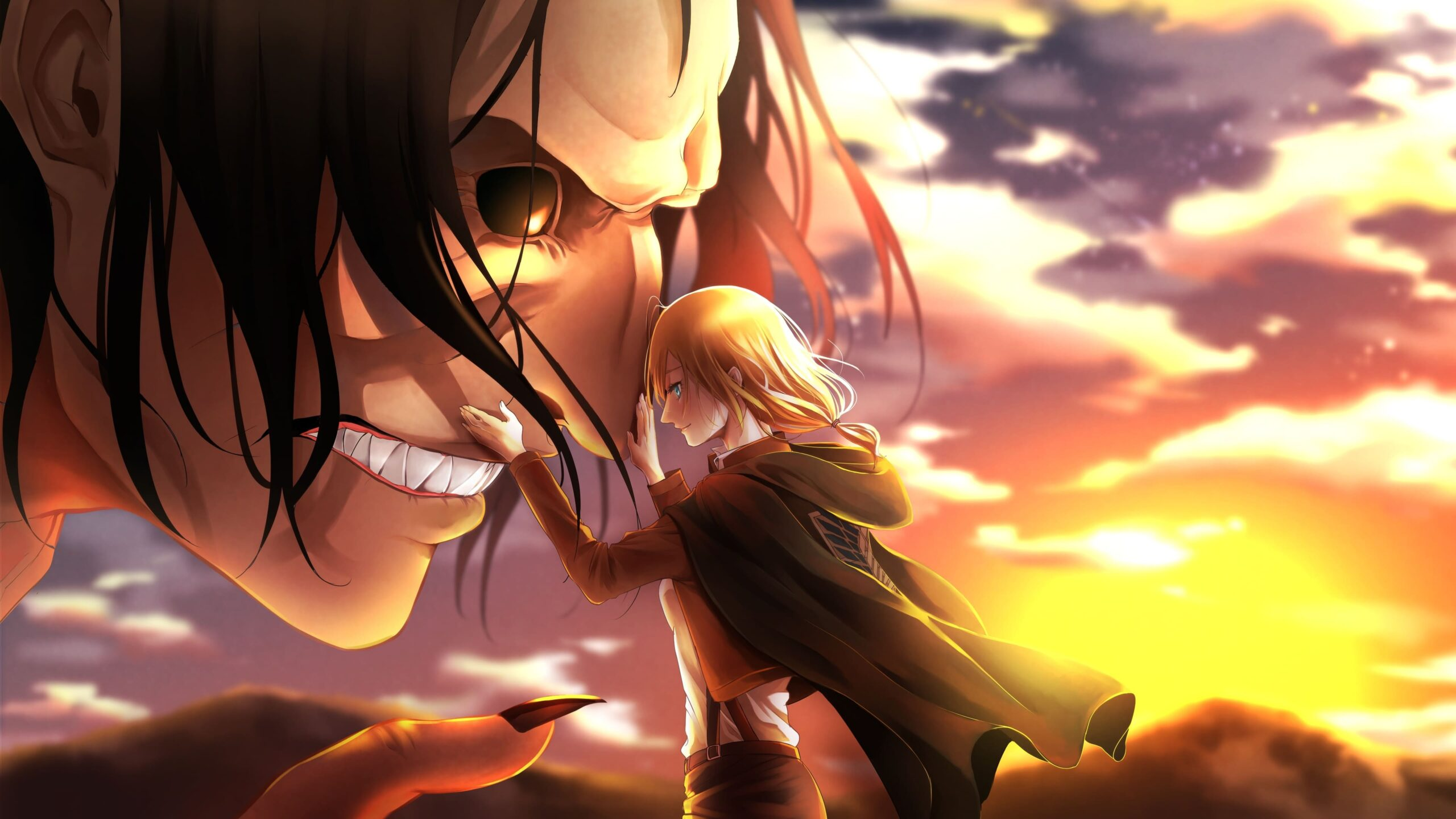 On april 15, 1912, the titanic entered history as one of the most notorious disasters at sea when the unsinkable ship struck an iceberg. Attack On Titan PC Wallpaper - Top Quality Attack On Titan ...