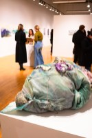 """""""Leaks, Ooze"""" by Liz Moore, Parabola: Assembly exhibition, Des Lee Gallery, Washington University, St. Louis, MO"""