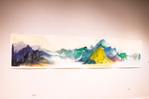 """""""Fusing"""" by Sixue Yang, Parabola: Assembly exhibition, Des Lee Gallery, Washington University, St. Louis, MO"""