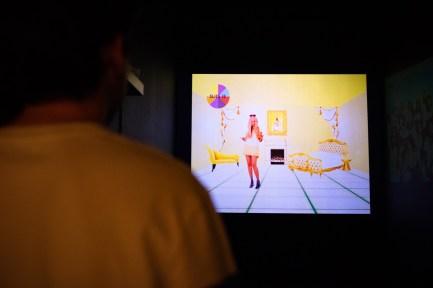 """Slice ID"" by Katarina Wood, BFA Show 2, Des Lee Gallery, Washington University, St. Louis, MO"