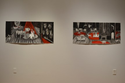 graduate exhibtion at Des Lee Gallery