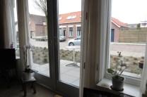Uitzicht uit oma's raam, maart 2015