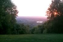 Uitzicht vanuit Wendover Woods