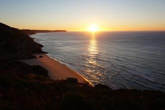 zonsopkomst in Portugal