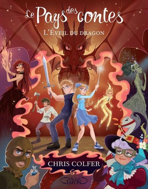 Couverture du tome 3 de la saga Le Pays des contes