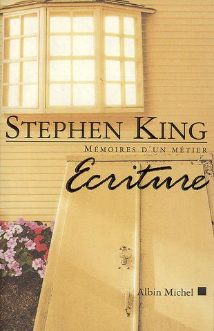 """Couverture du livre """"Écriture"""" de Stephen King"""