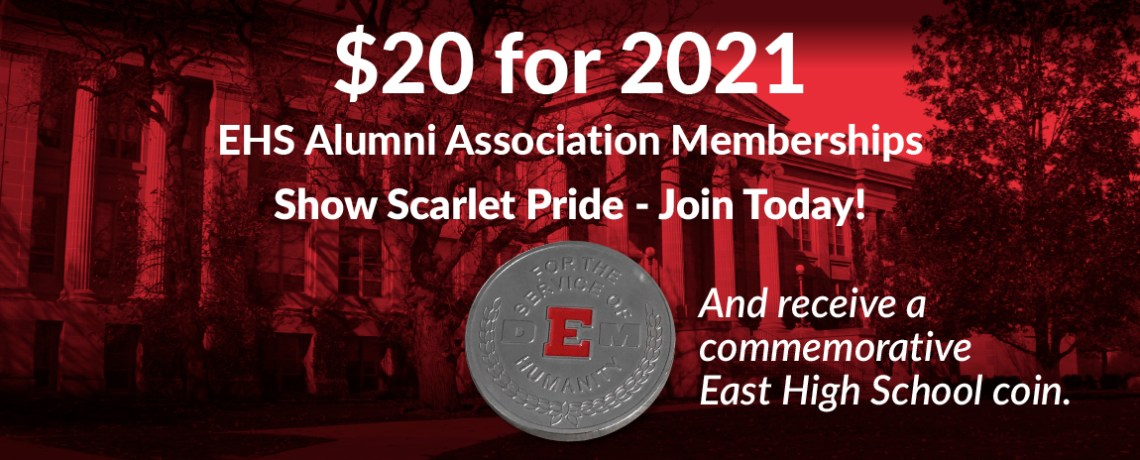 We need you in 2021: EHS Alumni Assn. Memberships