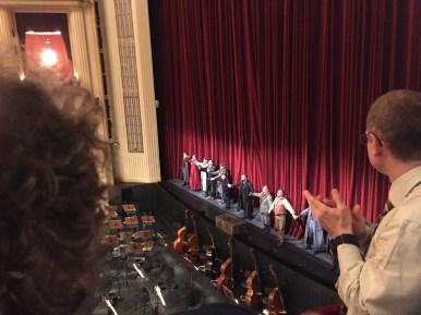 Curtain call for La fanciulla del West