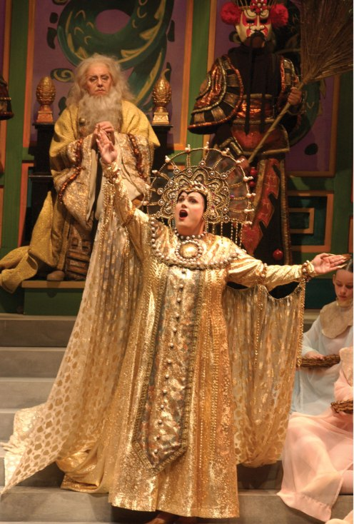 Caroline Whisnant as Turandot