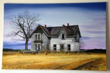 Old Rural Farm House Paintings