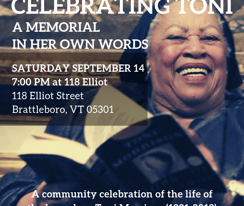 Celebrating Toni: A Memorial in Her Own Words