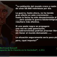 """Perversa """"La Perpectiva Científica"""" de Lord Bertrand Russell y sus cámaras de muerte para niñ@s disidentes."""