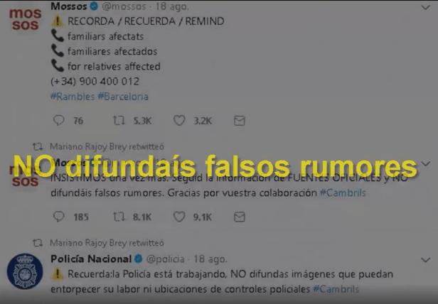 Noticias Fabricadas y Actores de Crisis Núm. 7
