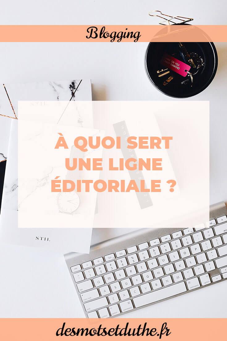 Des Mots et Du Thé : pourquoi définir une ligne éditoriale ?