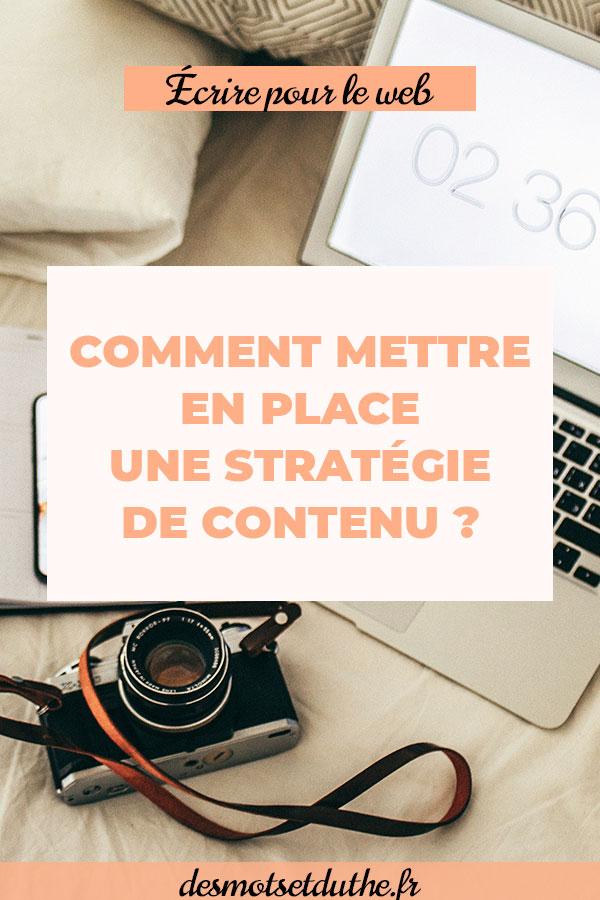Comment mettre en place une stratégie de contenu ?