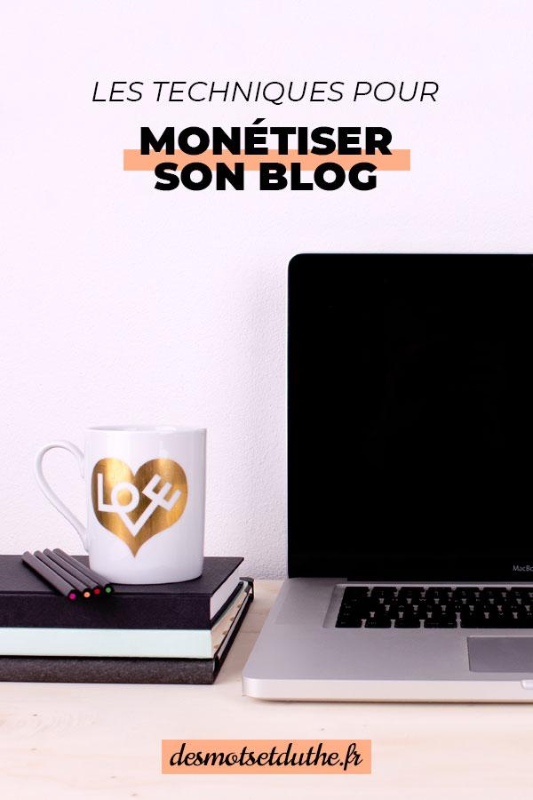 Gagner de l'argent avec un blog : comment monétiser son blog ?