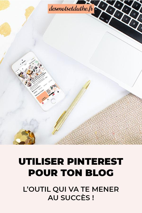 Comment utiliser Pinterest pour un blog ? Voici tous mes conseils pour augmenter le trafic de ton blog.