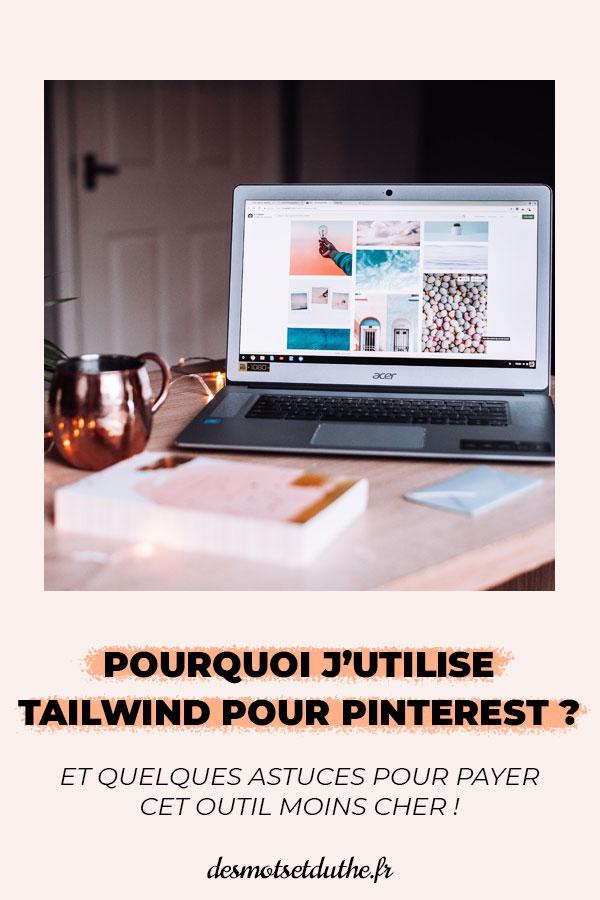 Pourquoi j'utiliser Tailwind pour Pinterest ?