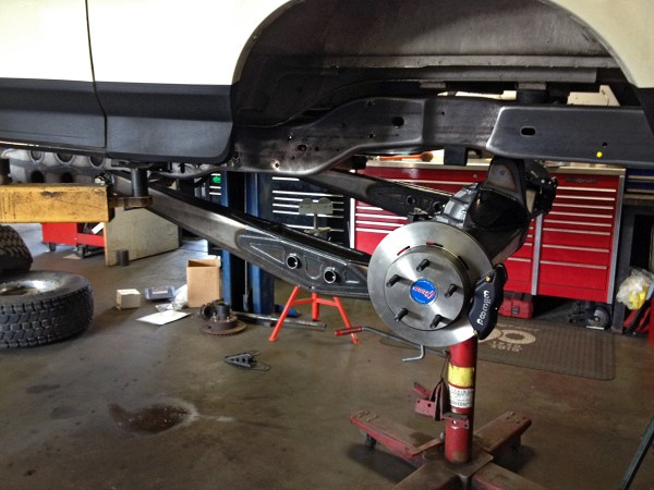 Long Travel Rear Trailing Arms - Year of Clean Water