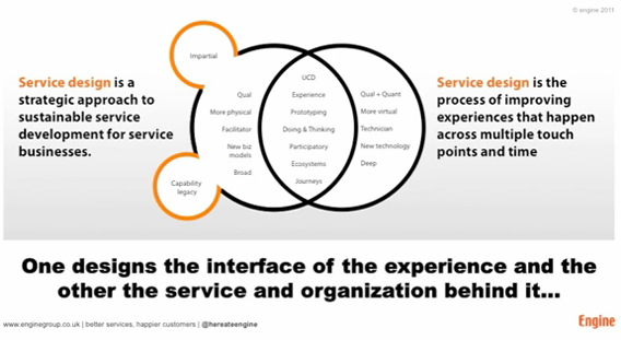 Service Design & UX Design; Po-tay-to/Po-tar-to or as
