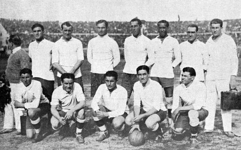 Copa mundial de Futbol Uruguay 1930