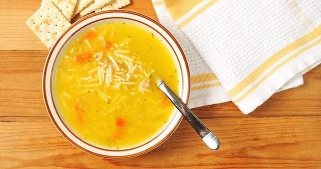 Sopa de fideos con Ginseng