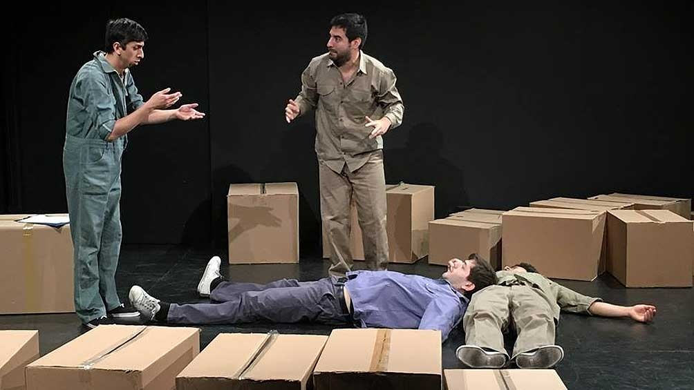 """""""Los Muertos"""", de Mario Levrero, en una imperdible versión de Irina Alonso - Télam 2"""