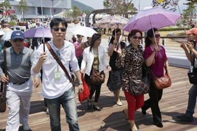 571a7c71bcc70 400x266 - El Calafate busca consolidar el crecimiento del arribo de turistas chinos - Télam