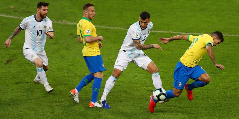 Brasil vs Argentina copa américa