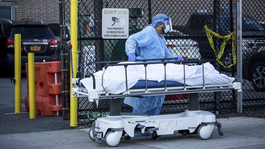 URGENCIA: EEUU el país con más muertes a causa del CORONAVIRUS