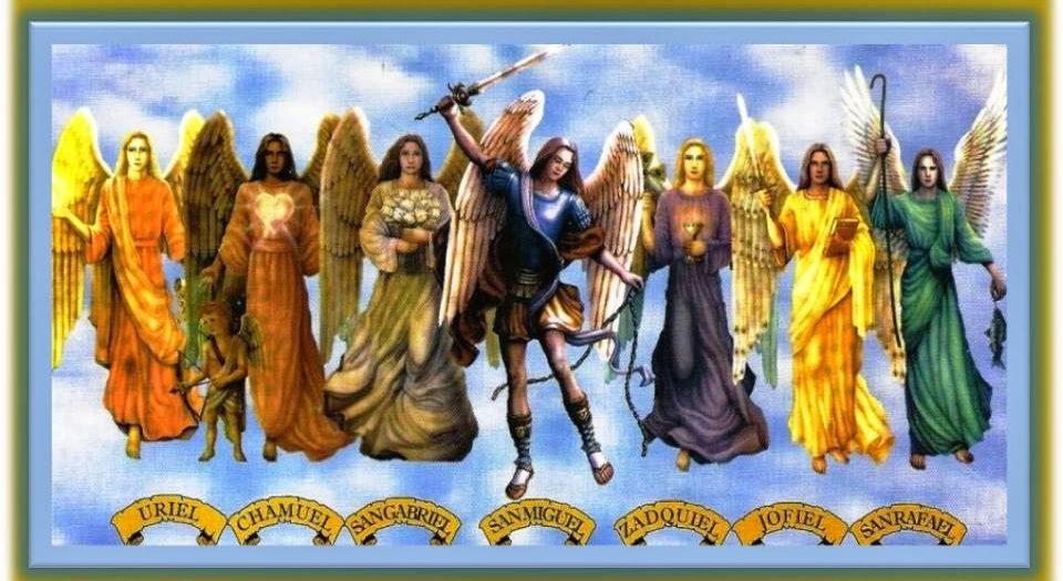 Oración a los 7 arcángeles